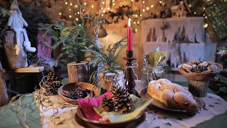 Zvyky při servírování štědrovečerní večeře přetrvaly mnoho let z minulosti