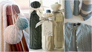 Recyklované Vánoce: Vánoční výzdoba z šatní skříně