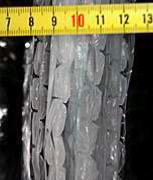 Vzorek č. 9 - 5x alu folie proložená 8 bublinkovými foliemi