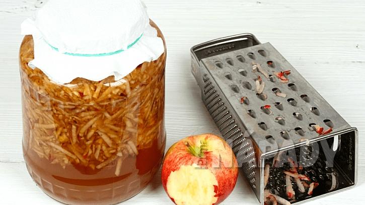 Recept na domácí jablečný ocet