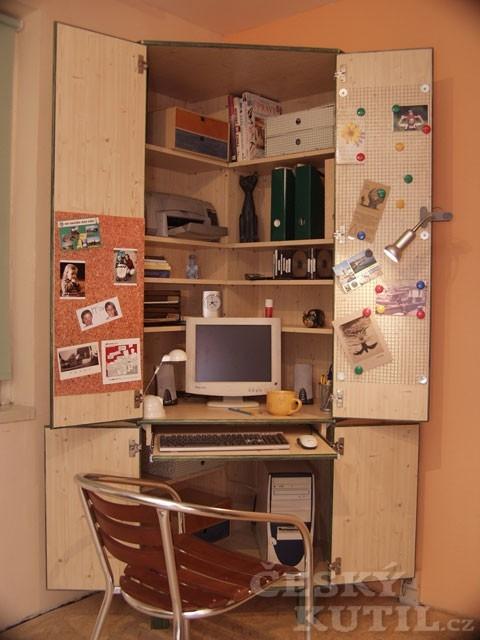 Počítač ve skříni – výroba - 3. díl