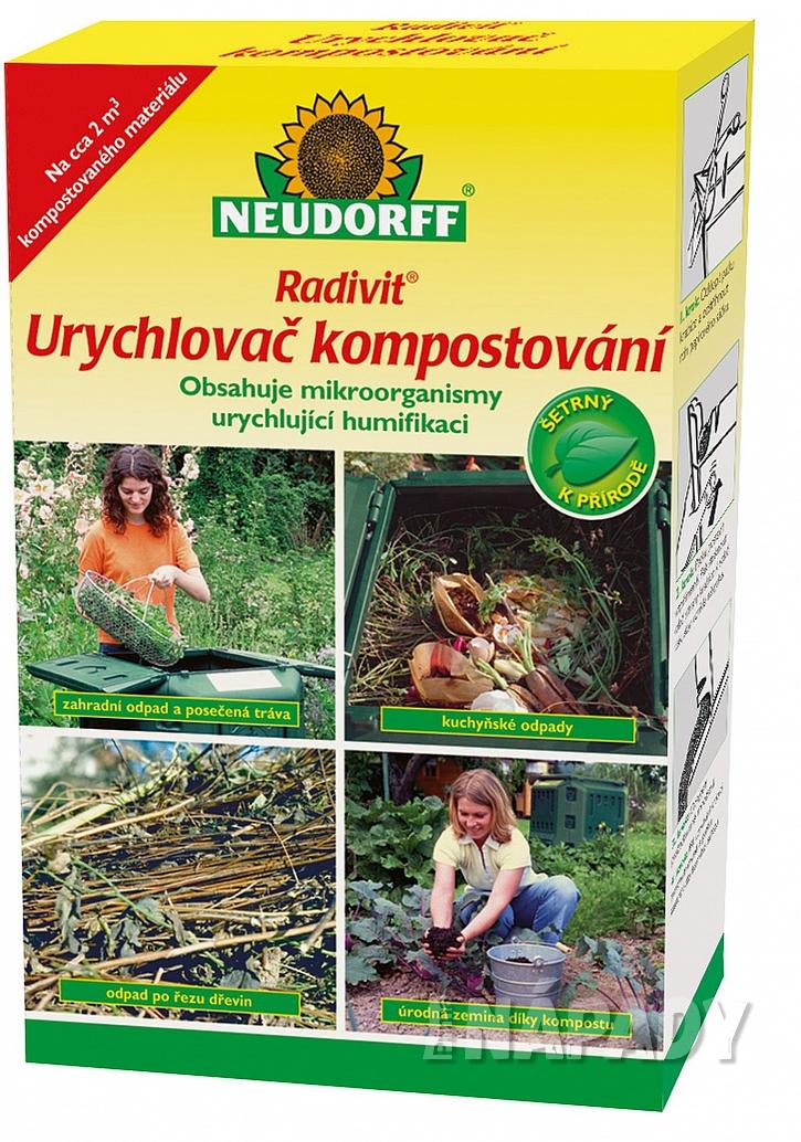 Radivit Urychlovač kompostování urychluje proces humifikace