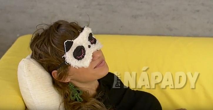 Maska na oči pro klidný spánek