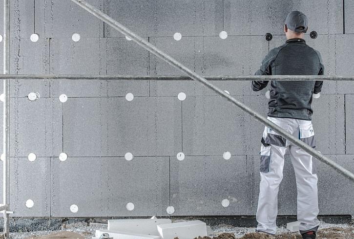 Grafitový polystyren používáme nejlépe ve stínu