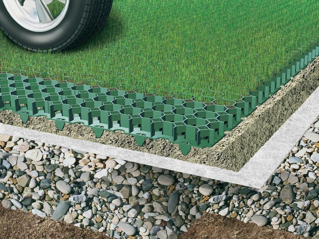 Zatravňovací dlažba vyřeší problémy s růstem trávníku