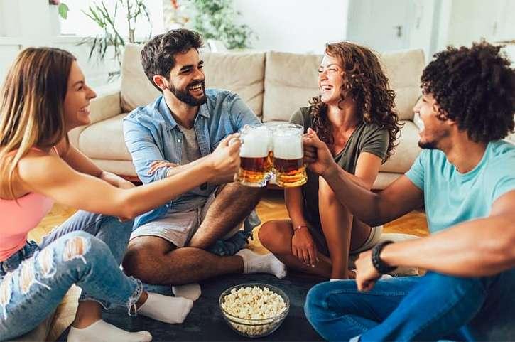 Domácí párty si zaslouží čepované pivo (Zdroj: Heuréka)