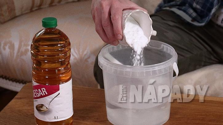 Domácí aviváž: jedlou sodu smícháme s vodou