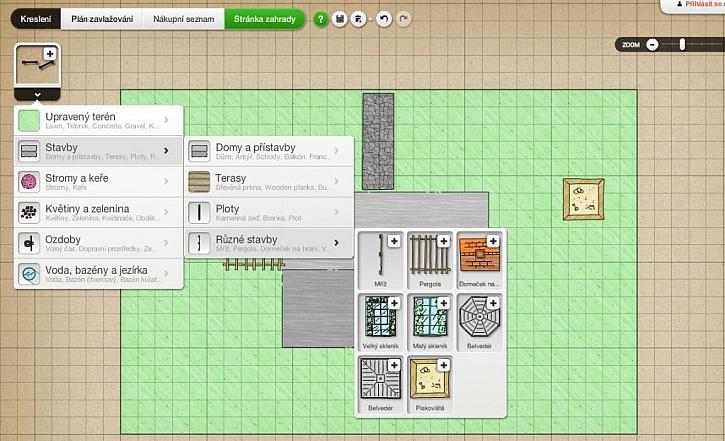 Nakreslete a zrealizujte si zahradu svých snů s aplikací My Garden