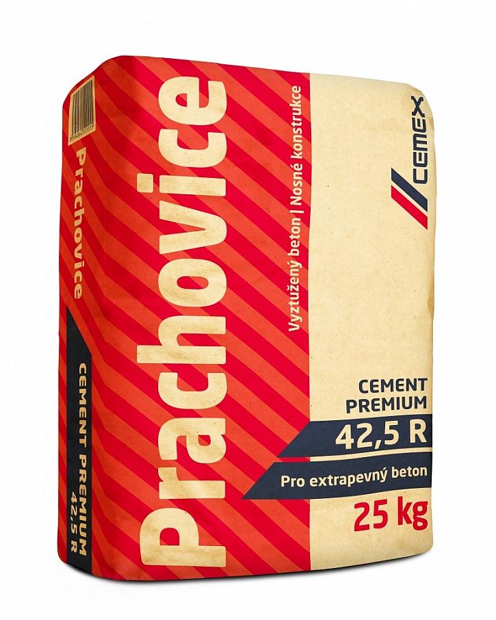 Cement Premium Prachovice - pro vyztužený beton, nosné konstrukce