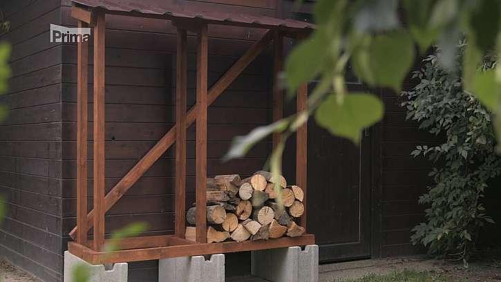 Výroba dřevníku