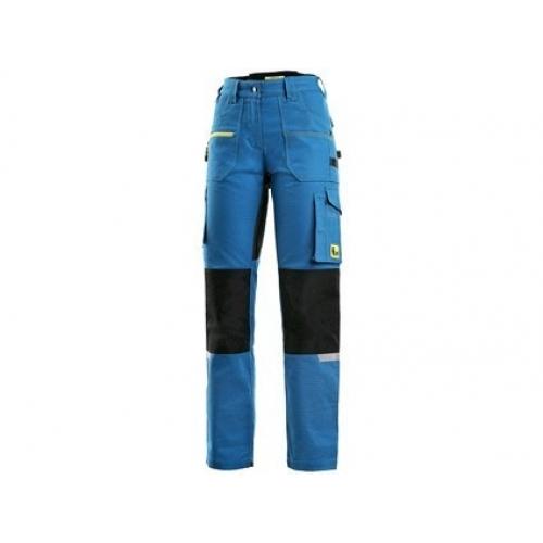 Kalhoty CXS STRETCH, dámské, středně modro - černé, vel. 52