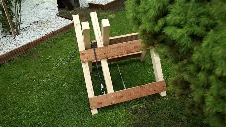 Koza na řezání dřeva