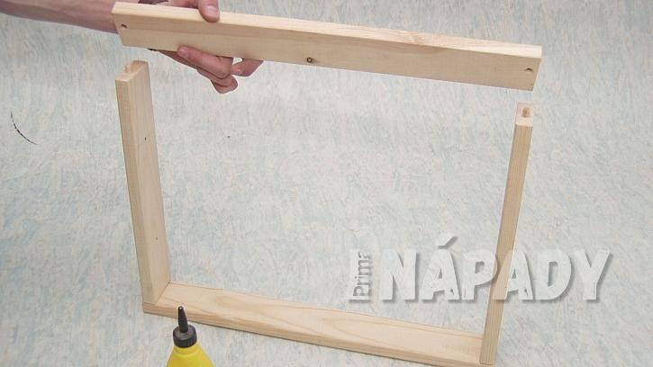 DIY servírovací tác: spojíme rámeček