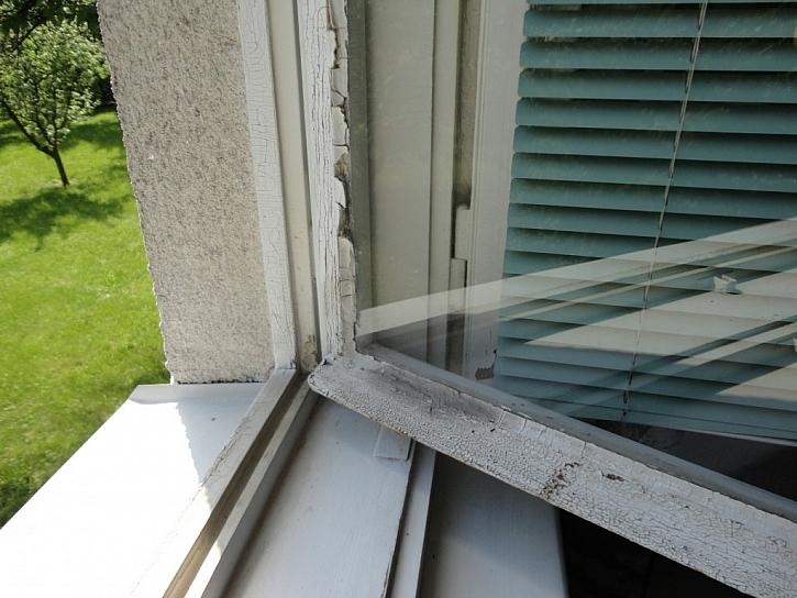Špatný stav oken