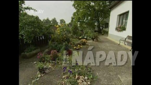 Zahrada založená na betonu