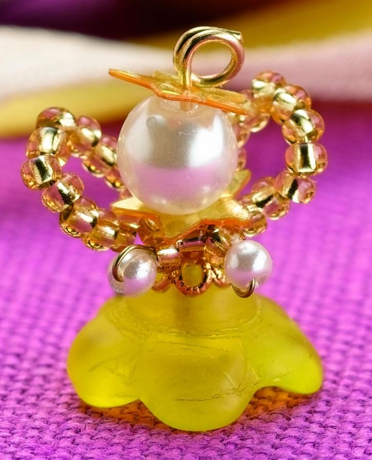 Materiál - Andílek se zlatým (stříbrným) květem: