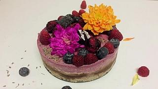 Chutný raw dort