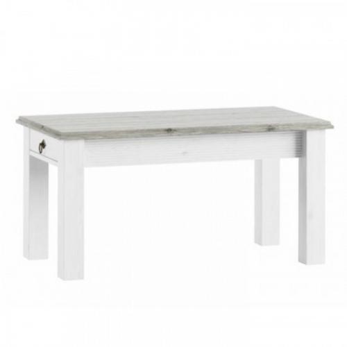 Tempo Kondela Konferenční stolek, bílá, LIONA  LM 97