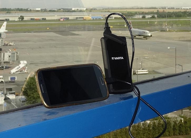 Vždy a všude nabito! ..aneb cestovní nabíječka pro foťák i telefon