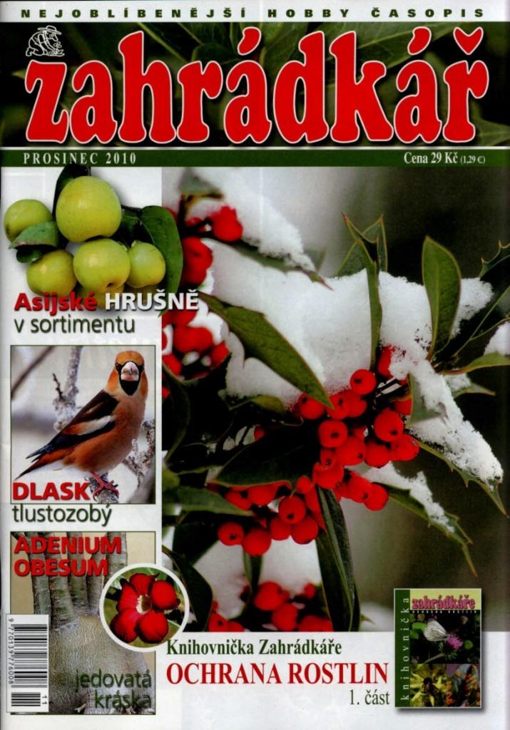Zahrádkář č. 12/2010