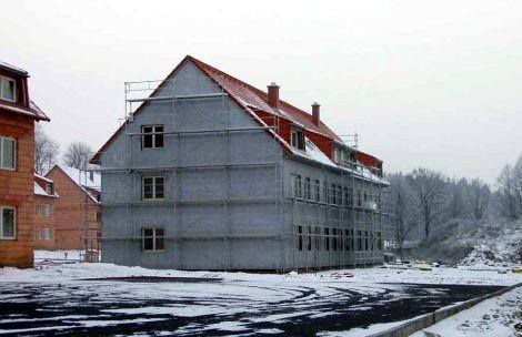 Aplikace stavebních materiálů v zimním období