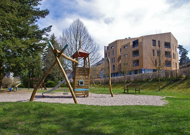 Stavbou roku se stala rezidence Lakepark u Máchova jezera