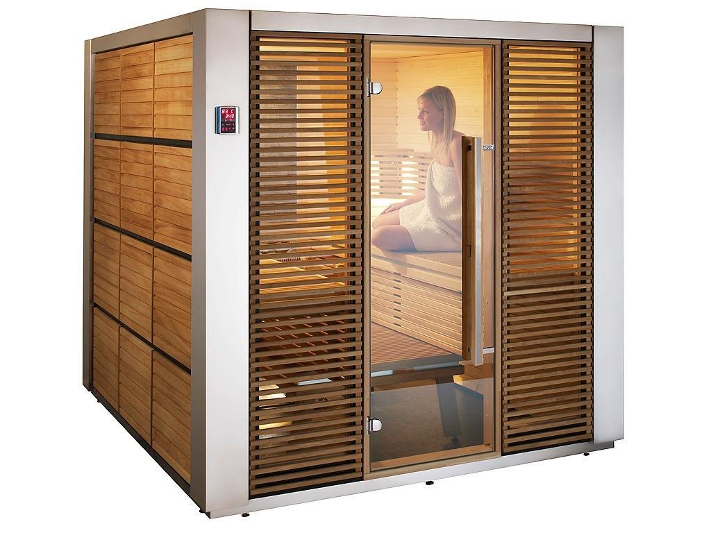 Finská sauna na veletrhu IBF 2015 v Brně