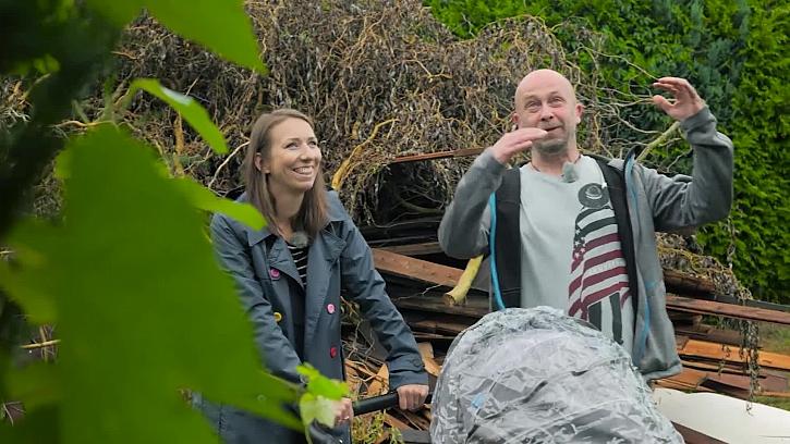 Zahradní architektka Kristýna si jede prohlídnout zahradu