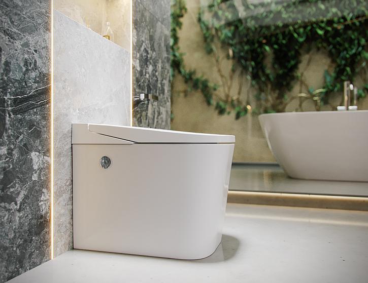 Nejúspornější toaleta na světě s technologií OFS