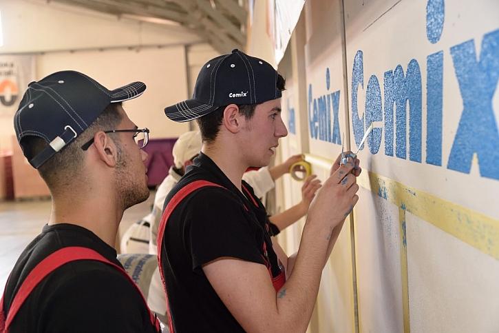 Mladí učňové budou v Letňanech opět soutěžit s materiály Cemix na veletrhu FOR PASIV