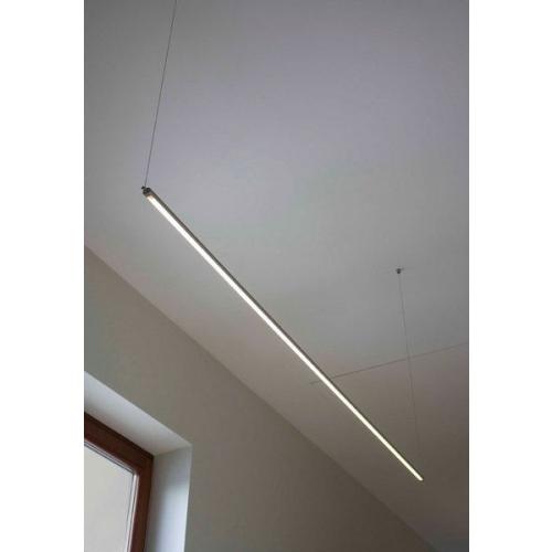 SAPHO FROMT TOUCH LED závěsné svítidlo 47cm 7W, sensor, hliník