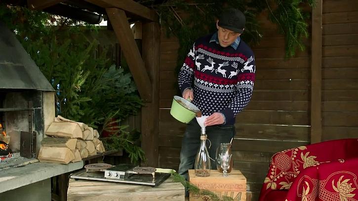 Láďův originální recept na vánoční nugátový likér