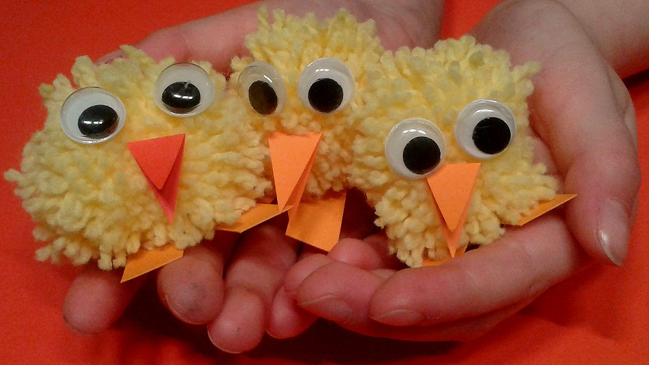 Jak si udělat velikonoční kuřátka zbambulí