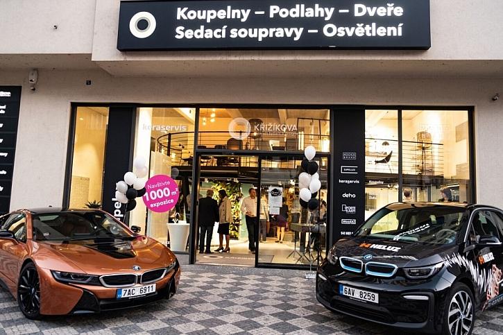 Centrum bydlení a designu Křižíkova v pražském Karlíně inspiruje moderními trendy i historií