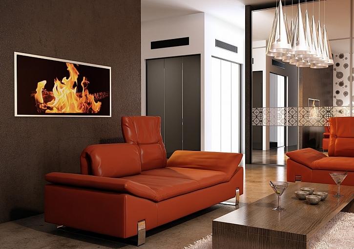 Designové sálavé topné panely a infrapanely