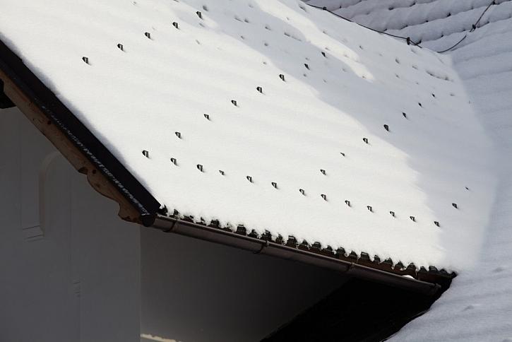 Jak zabránit žalobám? Připravte střechu na zimu