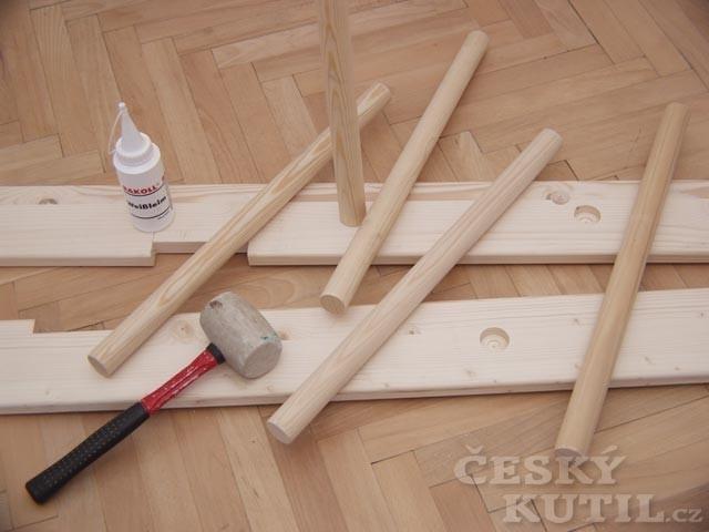 Návod - jak vyrobit schody na spací patro