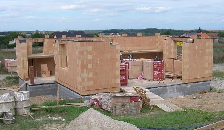 Stavba z Porothermu Profi ve zkratce