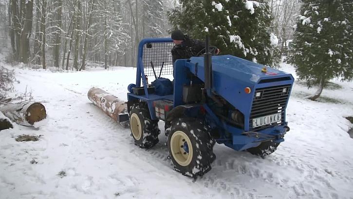Jak funguje vlastnoručně vyrobený traktor?