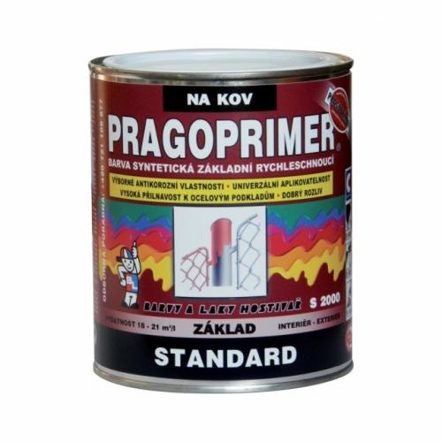 Pragoprimer Standard S2000 základní barva na kov, červenohnědá, 600 ml