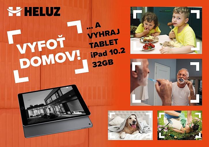 HELUZ ocení vítěznou fotku tabletem Apple iPad (Zdroj: Heluz)