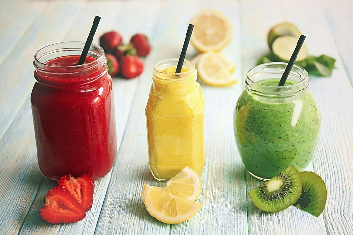 Smoothie je zdravý koktejl z ovoce nebo zeleniny, který našemu tělu v zimě dodá vitamíny (Zdroj: Depositphotos)