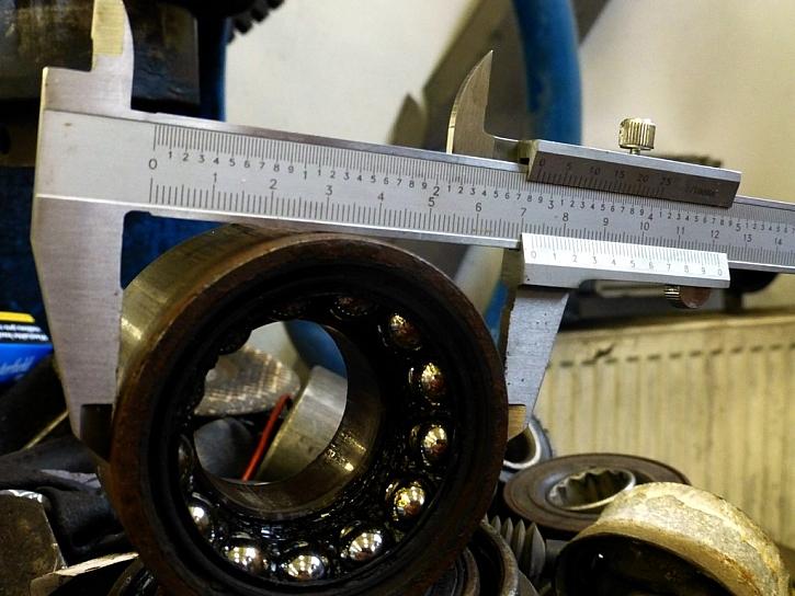 Kovová šupléra s větším rozsahem měření