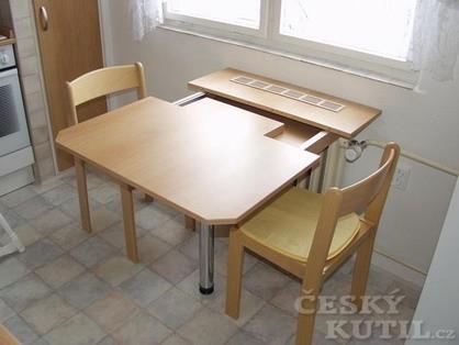 Výsuvný stůl aneb stolečku prostři se – 2. díl