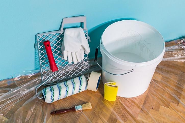 Před malováním si připravte barvy, pomůcky a veškeré nářadí