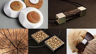 Vánoční dárky ze dřeva: Šperky, co se neblyští