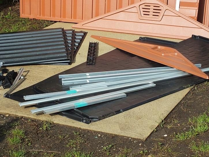 Domek na nářadí či zahradní potřeby