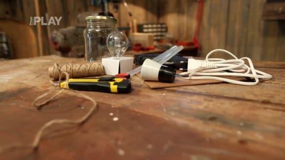 Jak vyrobit originální lampu do zahradního altánu