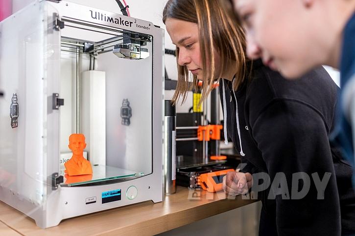 3D tiskarna v iQFABLABU