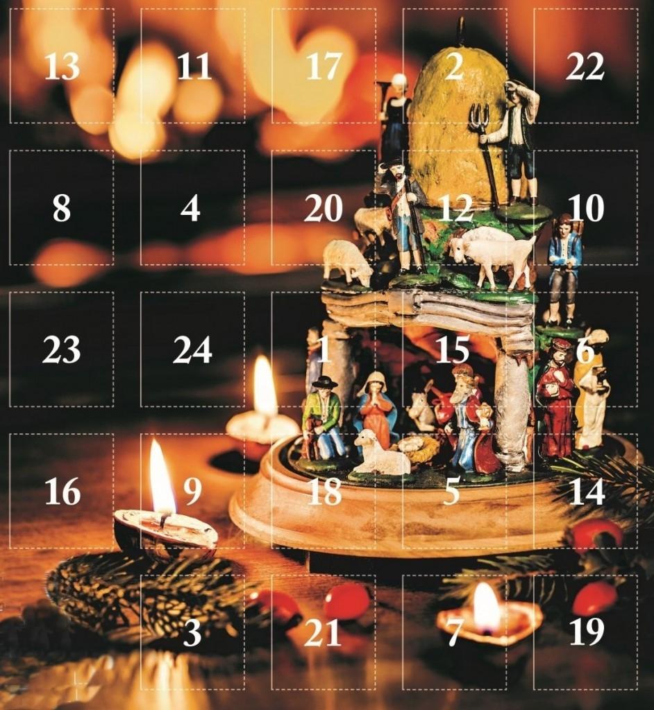 Adventní kalendář pro milovníky nákupů